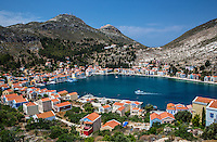 Kastellorizo from the Castle of the Knighs of St John, Greece