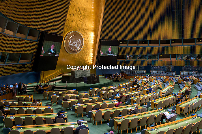 GA 72<br /> High-level meeting of the General Assembly on the appraisal of the United Nations Global Plan of Action to Combat Trafficking in Persons <br /> <br /> Closing the meeting