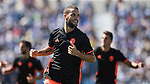 Mario Suarez of Valencia CF celebrates scoring during their La Liga match between Club Deportivo Leganes and Valencia CF at the Butarque Municipal Stadium on 25 September 2016 in Madrid, Spain. Photo by Diego Gonzalez Souto / Power Sport Images