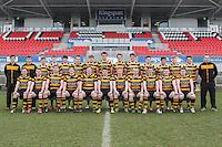 ULSTER SCHOOLS CUP SEMI-FINAL | Monday 29th February 2016<br /> <br /> RBAI Team. Ulster Schools Cup semi-final between RBAI and Ballymena Academy at Kingspan Stadium, Ravenhill Park, Belfast. Photo credit: John Dickson / DICKSONDIGITAL