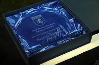 Kent FA Women's Cup Final. Aylesford Ladies (Blue & White) V Dartford Women (Grey & Green)