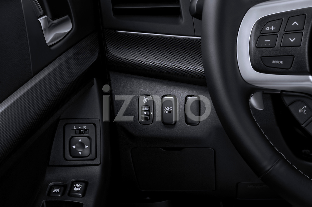Headlamp Adjustments 2010 Mitsubishi Lancer Sportback