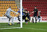 St Johnstone v Livingston…12.12.20   McDiarmid Park      SPFL<br />Chris Kane scores to make it 1-1<br />Picture by Graeme Hart.<br />Copyright Perthshire Picture Agency<br />Tel: 01738 623350  Mobile: 07990 594431