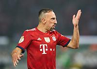 Franck RIBERY, FCB 7  and ,  , Einzel, Einzel , Gestik, Geste, , Handbewegung, zeigen, deuten  <br /> Football DFB Pokal Finale , Berlin,19.05.2018<br /> FC BAYERN MUENCHEN - EINTRACHT FRANKFURT 1-3<br /> 1718 ,  2017 / 2018, DFB-Pokal<br />  <br />  *** Local Caption *** © pixathlon