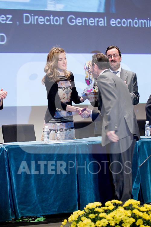Princess Letizia Ortiz presided 'Discapnet Awards' from Fundacion Once in Madrid March 10th 2011...Photo: Miguel Cordoba / ALFAQUI