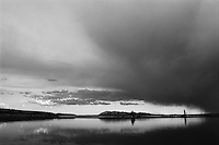 Clearing Storm, Yellowstone Lake