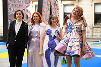Grayson Perry and family<br /> arriving for the Royal Academy of Arts Summer Exhibition 2018 opening party, London<br /> <br /> ©Ash Knotek  D3406  06/06/2018