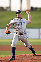 Matt Moore (36) of the Charlotte Stone Crabs during a game vs. the Lakeland Flying Tigers May 11 2010 at Joker Marchant Stadium in Lakeland, Florida. Charlotte won the game against Lakeland by the score of 3-0.  Photo By Scott Jontes/Four Seam Images