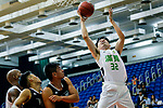 Tsoi Hung Hing #32 of Tycoon Basketball Team tries to score during the Hong Kong Basketball League game between Tycoon vs Eagle at Southorn Stadium on May 11, 2018 in Hong Kong. Photo by Yu Chun Christopher Wong / Power Sport Images