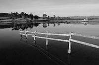Knapps Loch at dawn near Kilmacolm, Inverclyde