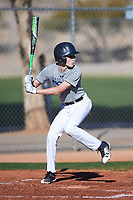 Trevor Pastega (45), from Woodway, Washington, while playing for the Tigers during the Under Armour Baseball Factory Recruiting Classic at Red Mountain Baseball Complex on December 29, 2017 in Mesa, Arizona. (Zachary Lucy/Four Seam Images)