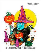 GIORDANO, CUTE ANIMALS, LUSTIGE TIERE, ANIMALITOS DIVERTIDOS, Halloween, paintings+++++,USGI1539,#AC#