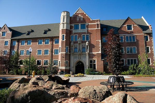 Regis College campus, Denver, Colorado, USA John offers private photo tours of Denver, Boulder and Rocky Mountain National Park.