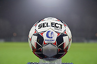 Gent's official matchball pictured during a female soccer game between  AA Gent Ladies and Oud Heverlee Leuven on the 9th matchday of the 2020 - 2021 season of Belgian Scooore Womens Super League , friday 11 th of December 2020  in Oostakker , Belgium . PHOTO SPORTPIX.BE | SPP | DIRK VUYLSTEKE