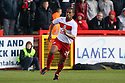 Joseph N'Guessan of Stevenage. Stevenage v MK Dons - npower League 1 -  Lamex Stadium, Stevenage - 27th April, 2013. © Kevin Coleman 2013. ..