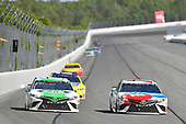 Monster Energy NASCAR Cup Series<br /> AXALTA presents the Pocono 400<br /> Pocono Raceway, Long Pond, PA USA<br /> Sunday 11 June 2017<br /> Kyle Busch, Joe Gibbs Racing, M&M's Red, White & Blue Toyota Camry, Corey LaJoie, BK Racing, Dustless Blasting Toyota Camry<br /> World Copyright: Logan Whitton<br /> LAT Images<br /> ref: Digital Image 17POC1LW3181