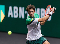 Rotterdam, The Netherlands, 28 Februari 2021, ABNAMRO World Tennis Tournament, Ahoy, First round match: Robin Haase (NED).<br /> Photo: www.tennisimages.com/henkkoster