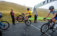 Jensen Plowright (Australia/Team BridgeLane) finishes stage four of the NZ Cycle Classic UCI Oceania Tour (Te Wharau-Admiral Hill Queen Stage) in Wairarapa, New Zealand on Saturday, 18 January 2020. Photo: Dave Lintott / lintottphoto.co.nz