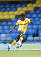 Terrell Egbri, Southend United, in action during Southend United vs West Ham United Under-21, EFL Trophy Football at Roots Hall on 8th September 2020
