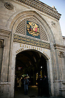 ONE OF THE ENTRANCES TO THE GRAND BAZAAR, ISTANBUL, TURKEY