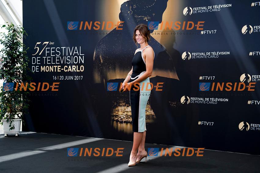 Stana Katic Monaco - 17/06/2017<br /> 57 festival TV Monte Carlo <br /> Foto Norbert Scanella / Panoramic / Insidefoto
