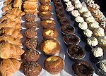 Pastries, Lincoln Green Market, Lincoln Road, Miami, Florida