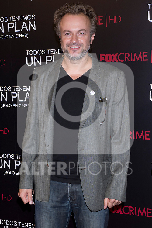 05.09.2012. Premier at the Capitol Cinema in Madrid of the movie ´Todos tenemos un Plan´.. Directed by Ana Piterbag and starring by Viggo Mortensen, Soledad Villamil and Javier Godino. In the image Tristan Ulloa (Alterphotos/Marta Gonzalez)