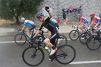 29th August 2020, Nice, France;  YATES Adam of Mitchelton-Scott during stage 1 of the 107th edition of the 2020 Tour de France cycling race, a stage of 156 kms with start in Nice Moyen Pays and finish in Nice