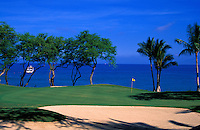 South No. 16 of the Makena Resort golf course on Maui