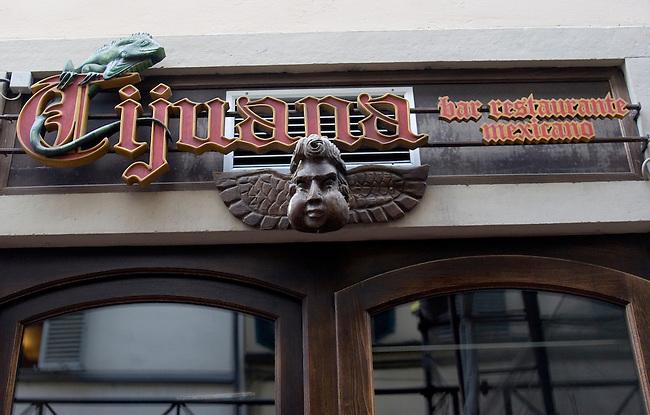 Exterior, Tijuana Mexican Restaurant, Florence, Tuscany, Italy