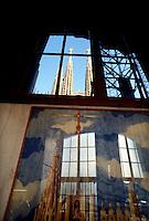 Barcellona, Spagna, Catalogna,  Gaudi, Antoni Gaudi, Sagrada Familia, bozzetto originale di Gaudi,