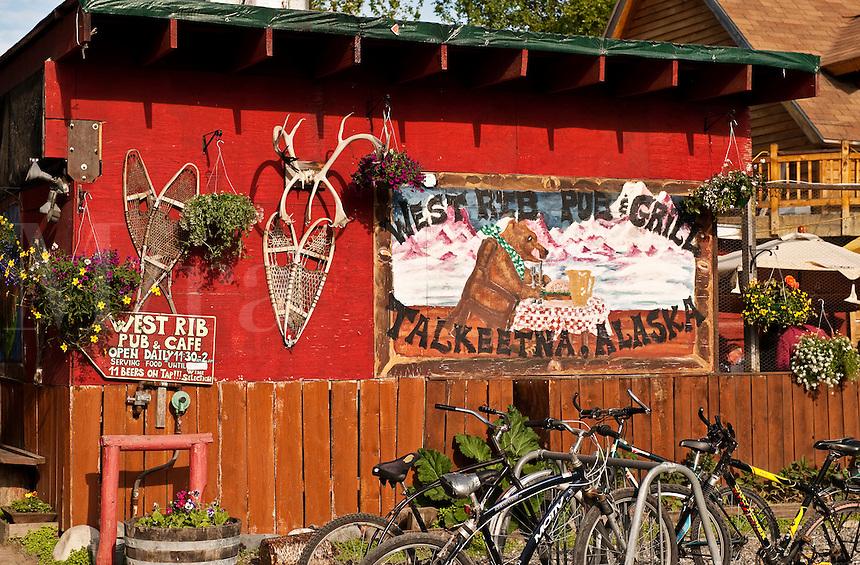 West Rib Pub and Grill, Talkeetna, AK, Alaska, USA