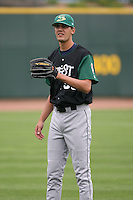 June 17th 2008:  Loek Van Mil of the Beloit Snappers, Class-A affiliate of the Minnesota Twins, during the Midwest League All-Star Game at Dow Diamond in Midland, MI.  Photo by:  Mike Janes/Four Seam Images