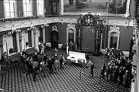 Quebec (QC) Canada- Nov 5 1987 File Photo - Funerals of former Quebec Premier Rene Levesque. - Rene Levesque