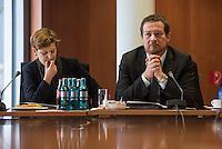 Pressegespraech zum NSU-Untersuchungsausschuss II des Deutschen Bundestag.<br /> Am Mittwoch den 17. Februar 2016 luden die stellvertretende Ausschussvorsitzende Susann Ruethrich (SPD) (links im Bild) und der Obmann der SPD-Bundestagsfraktion Uli Groetsch (rechts im Bild) zu einem Pressegespraech ueber das weitere Vorgehen im Ausschuss und geplante Zeugenvernehmungen.<br /> 17.2.2016, Berlin<br /> Copyright: Christian-Ditsch.de<br /> [Inhaltsveraendernde Manipulation des Fotos nur nach ausdruecklicher Genehmigung des Fotografen. Vereinbarungen ueber Abtretung von Persoenlichkeitsrechten/Model Release der abgebildeten Person/Personen liegen nicht vor. NO MODEL RELEASE! Nur fuer Redaktionelle Zwecke. Don't publish without copyright Christian-Ditsch.de, Veroeffentlichung nur mit Fotografennennung, sowie gegen Honorar, MwSt. und Beleg. Konto: I N G - D i B a, IBAN DE58500105175400192269, BIC INGDDEFFXXX, Kontakt: post@christian-ditsch.de<br /> Bei der Bearbeitung der Dateiinformationen darf die Urheberkennzeichnung in den EXIF- und  IPTC-Daten nicht entfernt werden, diese sind in digitalen Medien nach §95c UrhG rechtlich geschuetzt. Der Urhebervermerk wird gemaess §13 UrhG verlangt.]