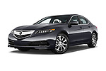 Stock pictures of low aggressive front three quarter view of 2015-2017 Acura TLX Technology 4 Door Sedan