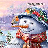 Marcello, CHRISTMAS SANTA, SNOWMAN, WEIHNACHTSMÄNNER, SCHNEEMÄNNER, PAPÁ NOEL, MUÑECOS DE NIEVE, paintings+++++,ITMCXM2163,#x#