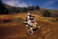 Moto cross race.