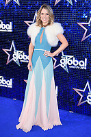 Charlotte Hawkins<br /> arriving for the Global Awards 2018 at the Apollo Hammersmith, London<br /> <br /> ©Ash Knotek  D3384  01/03/2018