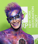 "Frankie Grande attends Bette Midler's New York Restoration Project hosts the 22nd Annual Hulaween Event ""Hulaween in the Cosmos"" at St. John the Divine on October 29, 2018 in New York City."