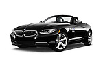 Stock pictures of low aggressive front three quarter view of 2016 BMW Z4 sDrive28i 2 Door Convertible Low Aggressive