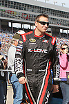 Sprint Cup Series driver Michael McDowell (98) before the NASCAR Sprint Cup Series AAA 500 race at Texas Motor Speedway in Fort Worth,Texas.