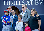 February 29, 2020: #9, MR FREEZE, and Manny Franco take the Gulfstream Park Mile with fast fractions for Trainer Dale Romans at Gulfstream Park on February 29, 2020 in Hallandale Beach, FL. (Photo by Carson Dennis/Eclipse Sportswire/CSM)