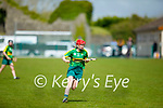 Kerry's Elaine Ryall in action against Galway in the National Camogie league in Lixnaw on Saturday.