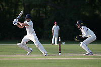 Joe Ellis-Grewal in batting action for Wanstead during Brentwood CC vs Wanstead and Snaresbrook CC, Essex Cricket League Cricket at The Old County Ground on 12th September 2020