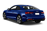 Car pictures of rear three quarter view of 2021 Audi A5-Coupe S-Line 2 Door Coupe Angular Rear