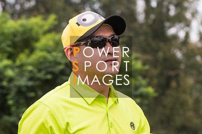 Angelo Que of Philippines reacts during the day four of UBS Hong Kong Open 2017 at the Hong Kong Golf Club on 26 November 2017, in Hong Kong, Hong Kong. Photo by Marcio Rodrigo Machado / Power Sport Images