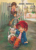 Alfredo, CHILDREN, paintings, BRTOVE0013,#K# Kinder, niños, nostalgisch, nostálgico, illustrations, pinturas