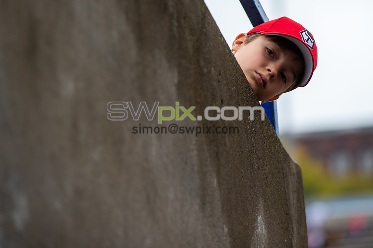 Picture by Kevin Sousa/SWpix.com - 07/10/2018 - Rugby League - Betfred Super League - The Qualifiers - Million Pound Game - Toronto Wolfpack v London Broncos - Lamport Stadium, Toronto, Canada - Young Toronto Wolfpack waits for the arrival of players.