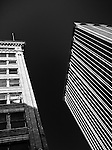 Urban abstract, Up Series of building in Dayton Ohio (Conover & Commercial building)Grant Deneu building